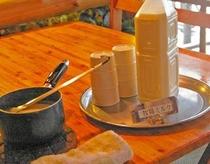 牧場ミルク