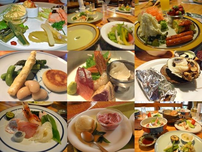 2016年のディナーメニュー