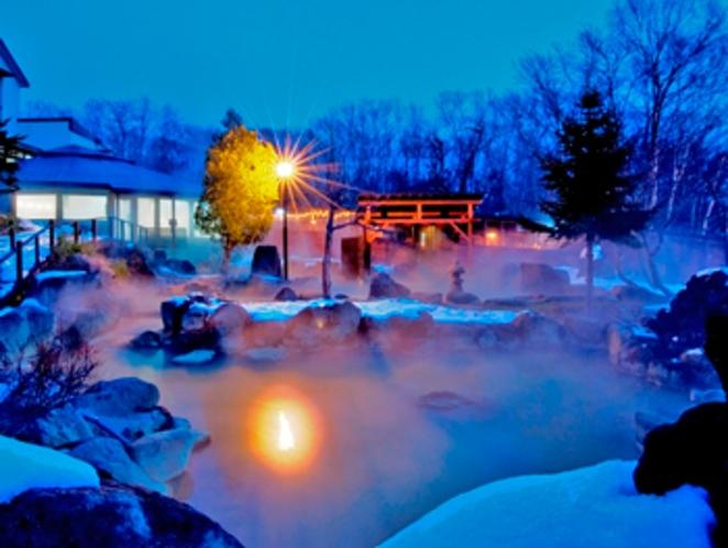 ニセコグランドホテル 露天風呂