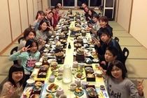 家族でたのしいお食事会