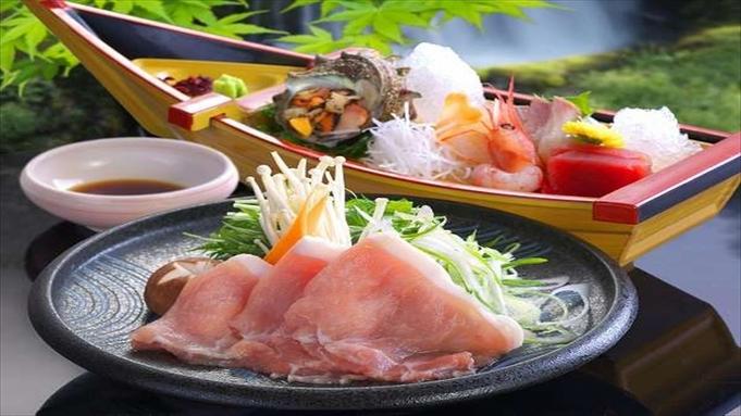 【お食事は個室確約】ご夕食・ご朝食どちらも個室でごゆっくり…♪米の娘豚しゃぶしゃぶ付和会席