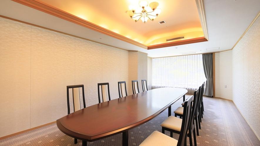 【山水亭】特別な会食や会議などにご利用いただけます。