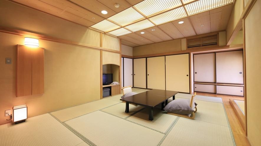 【温泉付 和室12畳】あつみの四季を感じられるゆったりとしたお部屋