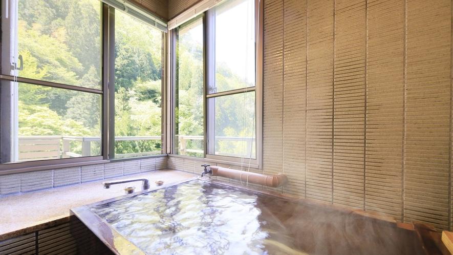 【温泉付 和洋室】萬国屋自慢の湯を気兼ねなくお部屋でご堪能ください。
