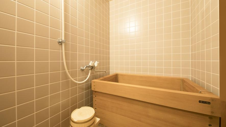 【川側/山側 和室10畳】檜の内湯付きのお部屋