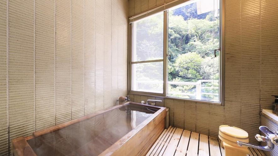 【温泉付 和室12畳】萬国屋自慢の湯を気兼ねなくお部屋でご堪能ください。