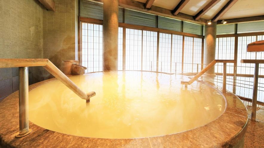 【3階 大浴場・楽山】ミクロの泡の気泡によるやわらかい刺激で美肌効果もあるシルクバス