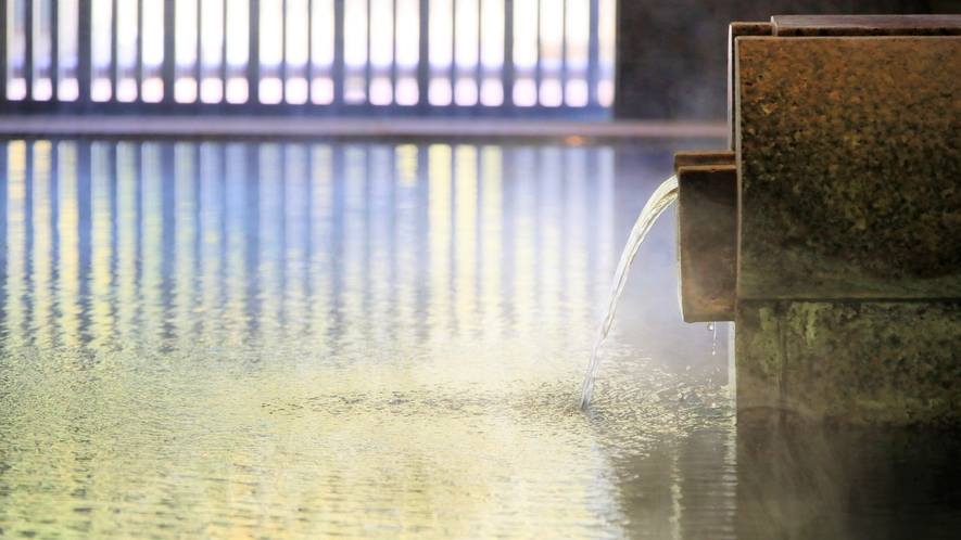 【3階 大浴場・楽水】至福のひとときをお過ごしください。