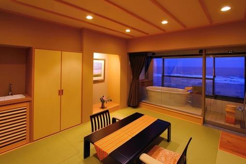 【露天風呂付客室】〜星空の歌フロア(5階)〜『楾』(和室)