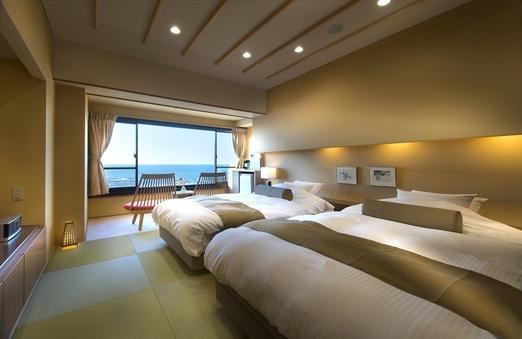 【禁煙】〜夕映えのうみフロア(4階)〜『椰』(洋室)