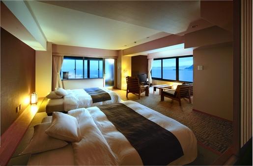 【露天風呂付客室】〜星空の歌フロア(5階)〜『浪漫の歌』