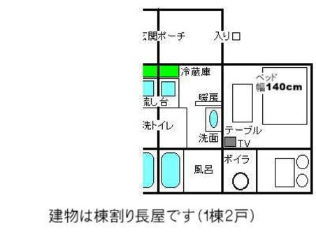 禁煙ワンルーム、1ベッド+追加可能な布団数は宿泊プランで変動