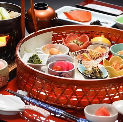【一泊朝食】山形のご当地食材や料理を楽しめる身体にも優しい和定食〜22時までチェックインOK!