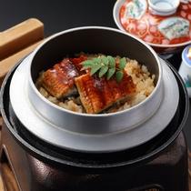 【国産鰻釜飯】当館ゆかりの茂吉がこよなく愛した鰻の釜飯