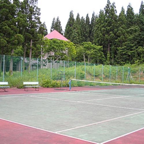★テニスコート/爽やかな風と共に爽快プレイ!