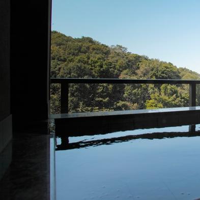 【1階特別フロア】露天風呂付客室で贅沢なひととき♪【桜月】