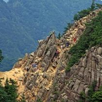 登山ルート 中道