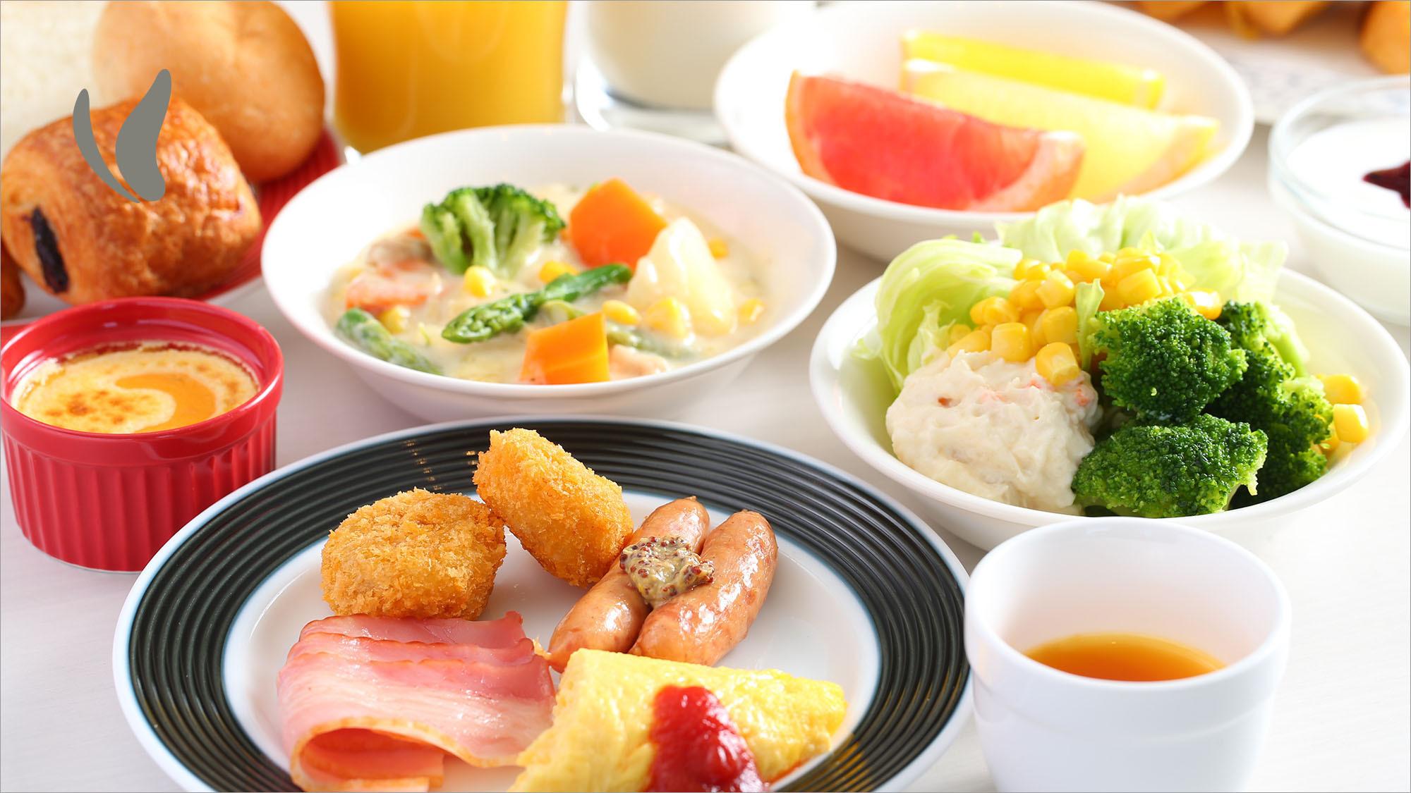 洋食メニュー例【朝食バイキング】