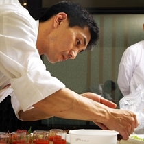 和食・イタリアン・中華それぞれの専属シェフが振る舞う渾身の料理