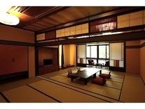 ◆グループ部屋<お部屋おまかせ> 最大10名様がお泊りになれる【22畳】【27畳】のお部屋をご用意
