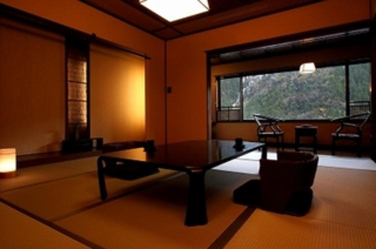 ◆デザイナーズ◆和モダン客室【露天風呂付】◆ 和室10帖+絶景露天風呂+広縁+テラス