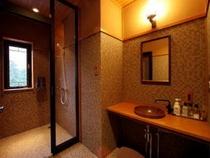 ◆デザイナーズフロア◆和モダン客室【シャワーブース】