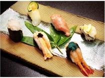 ◆料理長厳選会席~春~◆(特上にぎり寿司)
