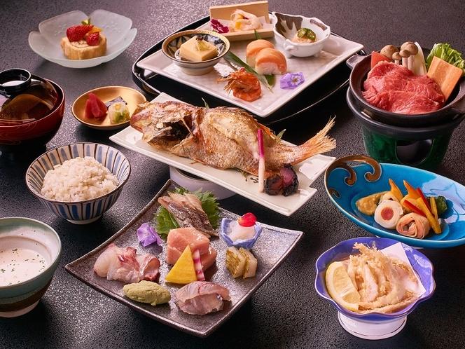 ◆のどぐろ・白えび満喫会席◆料理例