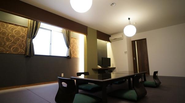 モダンフロア16畳和室