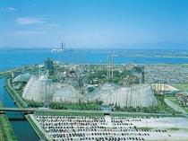 ナガシマスパーランド。日本最大級の遊園地。カップル様に大人気!!