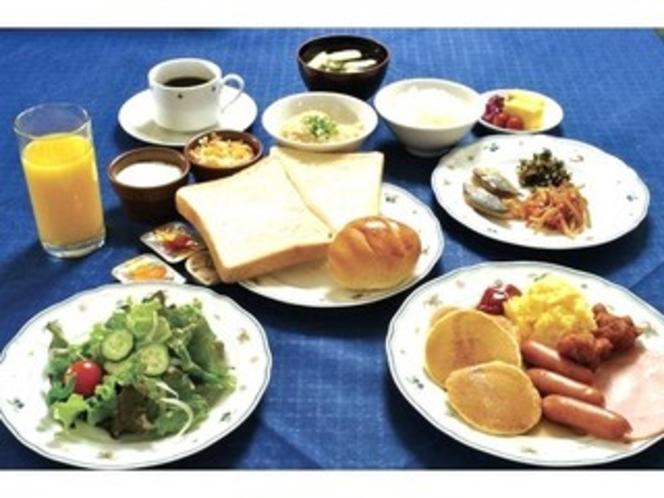 スタビアーナ朝食ビュッフェAM6:30〜10:00