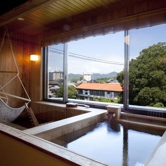半露天風呂付き和洋室「蘭」〜ハンモックのあるお部屋〜