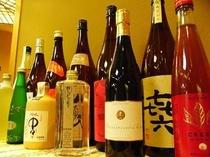銘酒の数々