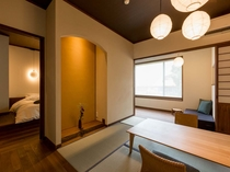 温泉内風呂付き和洋室「菊」