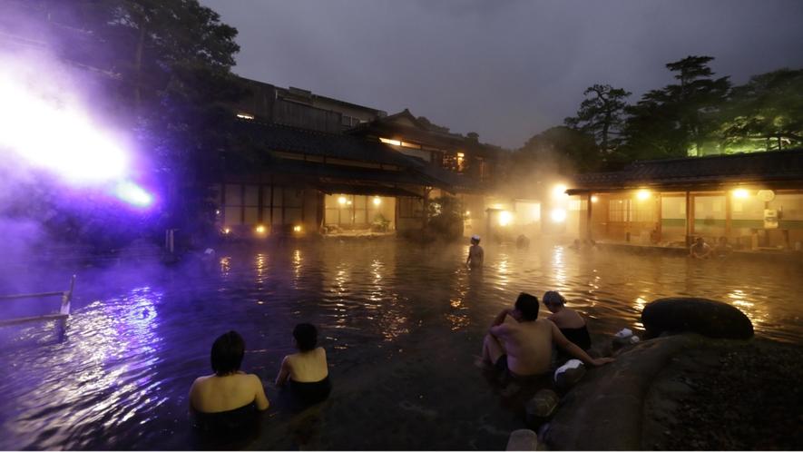 混浴大露天風呂「龍宮の湯」