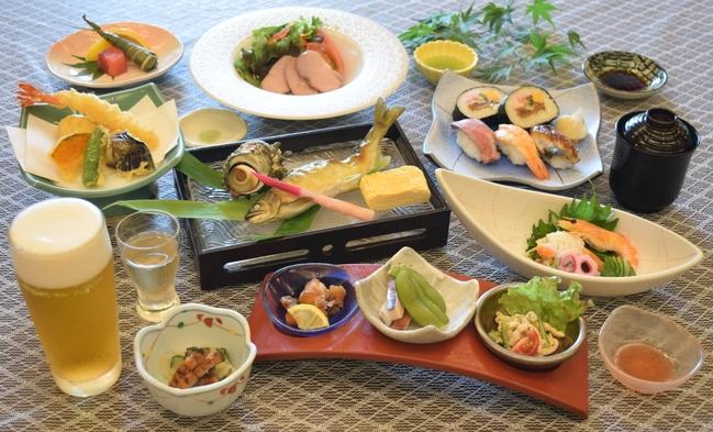 ★お部屋代が25%以上OFF★【〜涼風膳〜】日本庭園で味わう♪