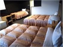 トリプルの部屋