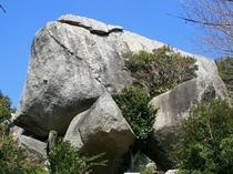 巨石群「亀岩」