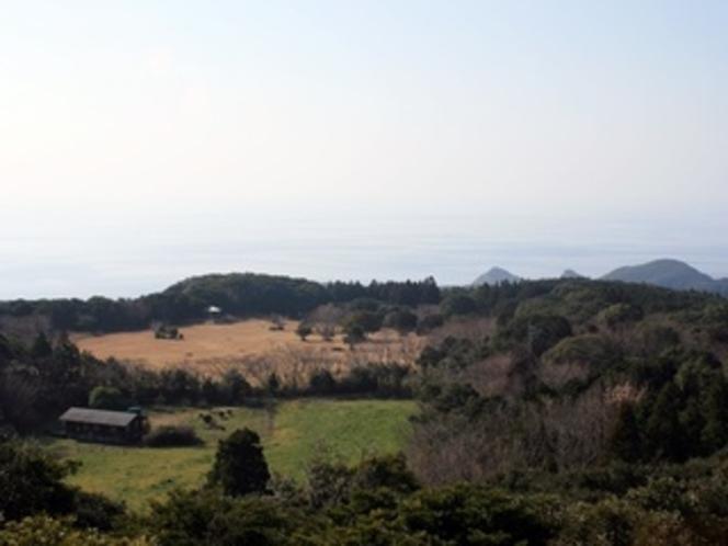 「巨石群からの景色」