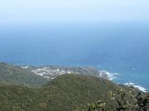 白皇山・頂上からの景色