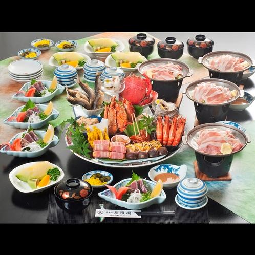 ◆四万十ポーク+皿鉢会席