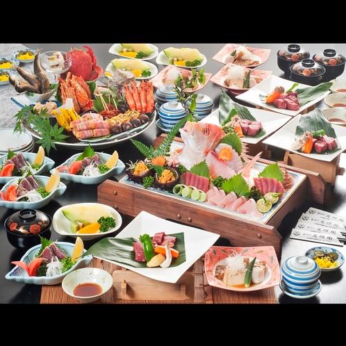 ◆土佐和牛サイコロステーキ+皿鉢会席