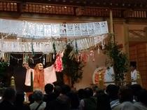 高千穂神楽は365日鑑賞できます。