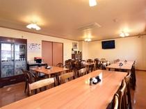 【食堂】当施設は道産食材にこだわる「北の恵み愛食レストラン」に認定された施設です。