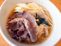 【夕食】すき焼き風煮物