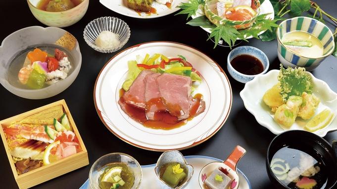 【夏の当館人気NO1会席】岡山名物!祭り寿司とローストビーフも堪能できる♪【1泊2食付プラン】