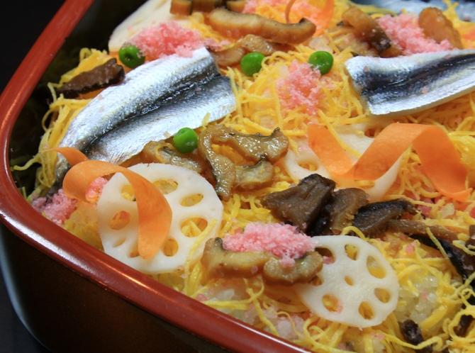 岡山名物「ばら寿司」