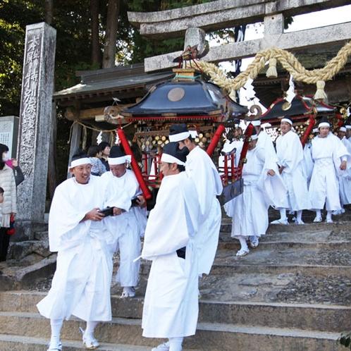 吉川八幡宮当番祭(毎年10月1日~下旬に開催)