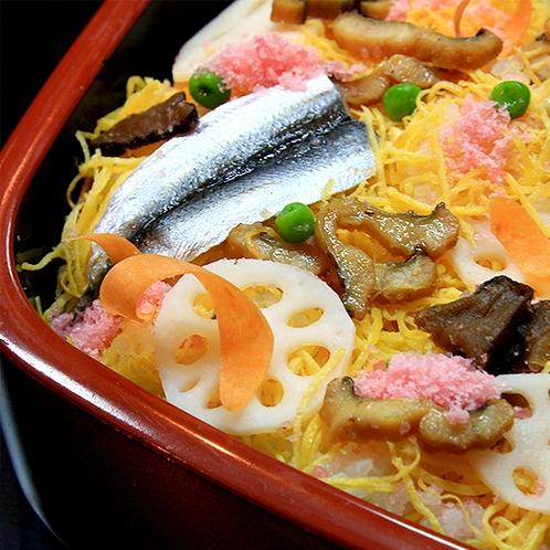 【食事】岡山名物「ばら寿司」