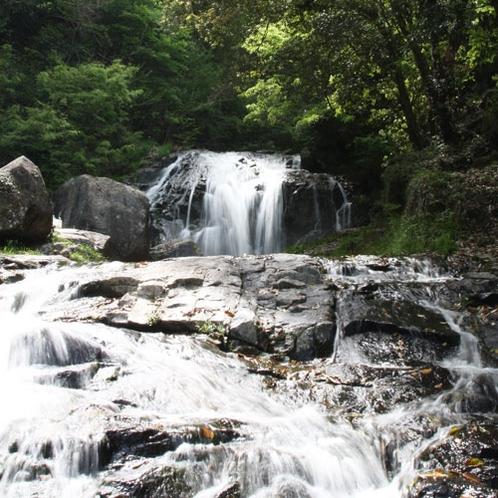 周辺観光:鳴滝森林公園(四季折々の滝の表情が楽しめます)